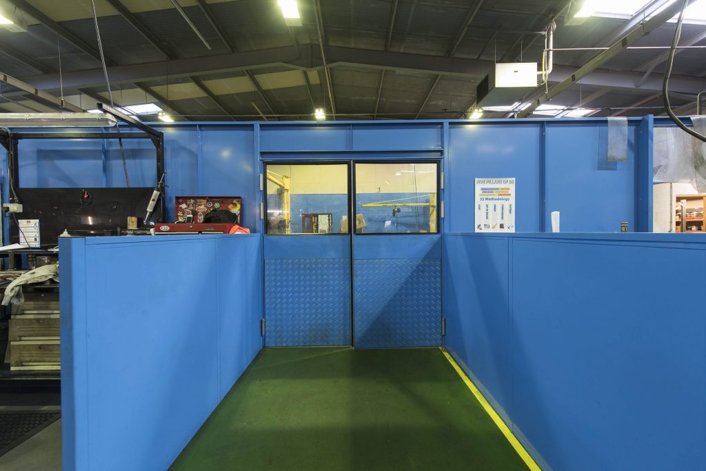 Warehouse Steel Partitioning Walls Littleport