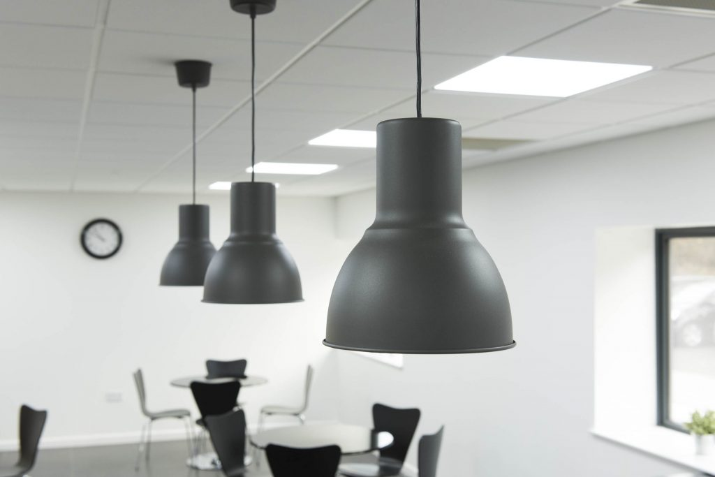 Feature Lighting Design Canteen Kitchen Norwich