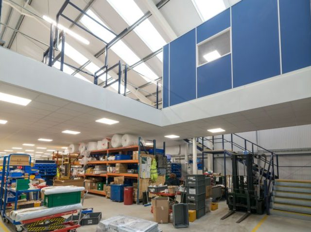 A Mezzanine Floor Fit Out in King's Lynn