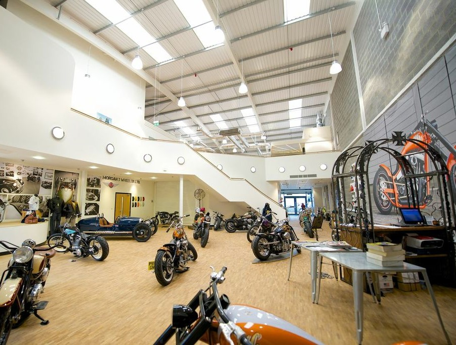 Krazy Horse Bike Showroom Refurbishment In Bury St Edmunds