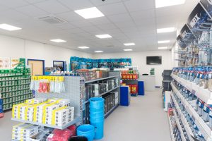Retail Partitioning & Ceiling Fit Out Peterborough
