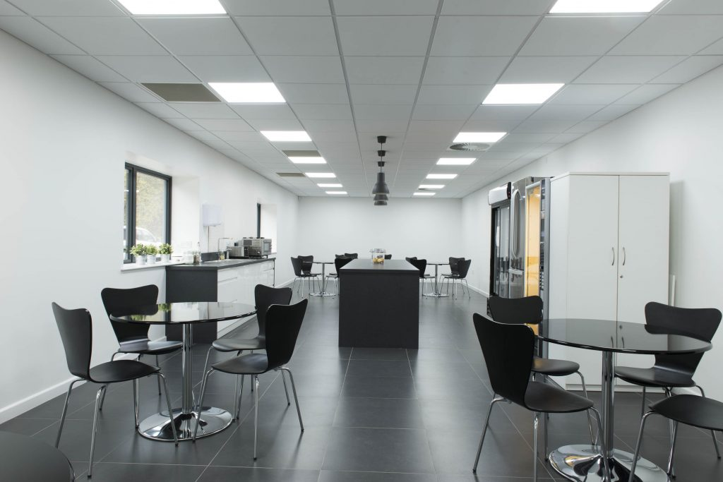 Suspended Ceiling Canteen Installation