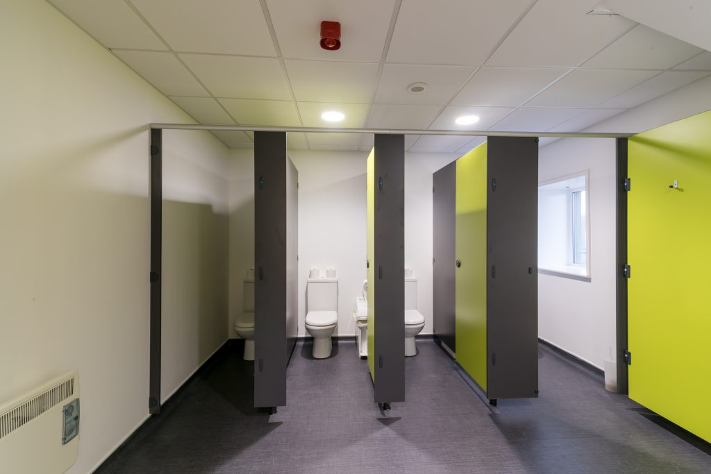 Cubicle Washroom Fit Out Cambridge